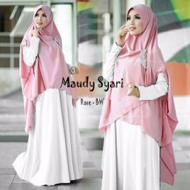 Model Gamis Modern Maudy